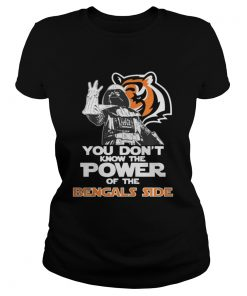 Ladies Tee You Dont Know The Power Of The Bengals Side Football TShirt
