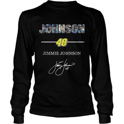 Longsleeve Tee Johnson 48 jimmie johnson shirt