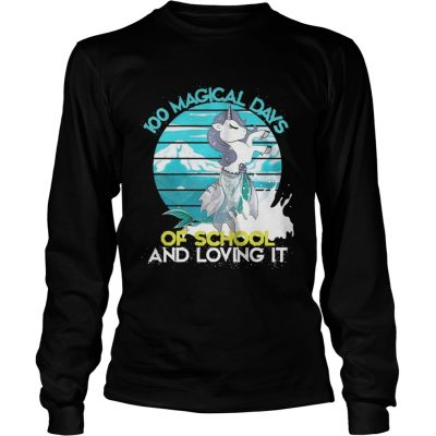 Longsleeve Tee Magical Days Of School And Loving It Shirt