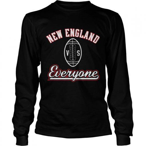 Longsleeve Tee New England VS Everyone Shirt