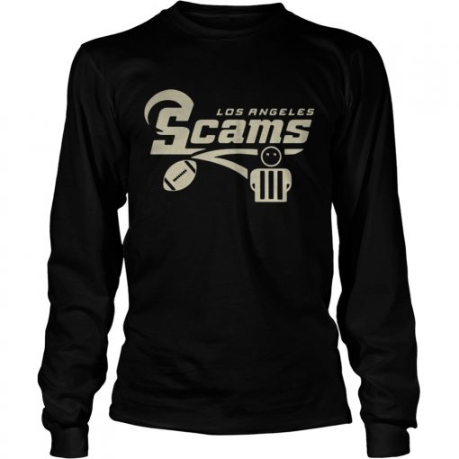 Longsleeve Tee Official Los Angeles Scams Shirt
