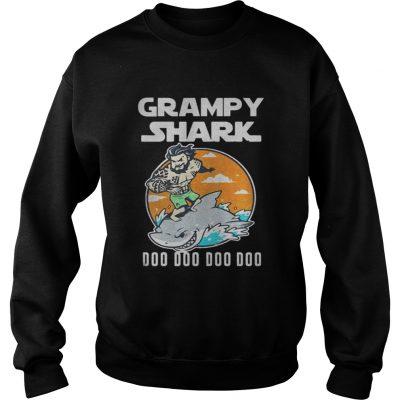 Sweatshirt Grumpy Shark Doo Doo Doo Doo shirt