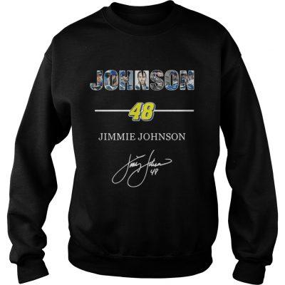 Sweatshirt Johnson 48 jimmie johnson shirt