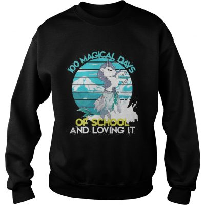 Sweatshirt Magical Days Of School And Loving It Shirt