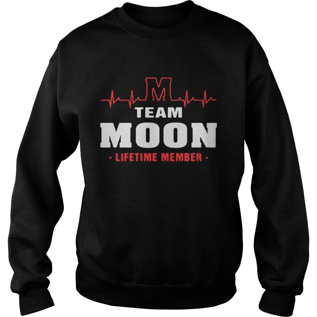 Sweatshirt Team Moom lifetime member shirt