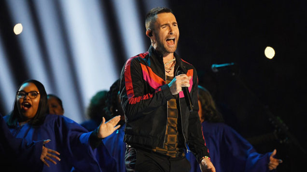 Adam Levine Addresses Fans & Critics in Post-Super Bowl Instagram Message