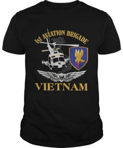 Guys 1st Aviation Brigade Vietnam shirt