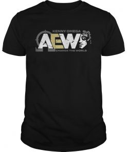 Guys AEW Kenny Omega Change The World shirt