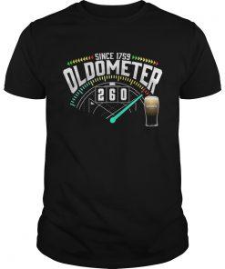 Guys Beer Since 1759 Oldometer 260 Kmh Shirt