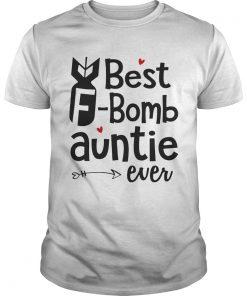 Guys Best Bomb Auntie Ever Shirt