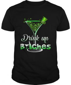Guys Best Irish drink up bitches shirt