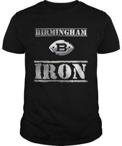 Guys Birmingham b iron shirt
