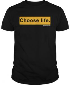 Guys Choose Life Trainspotting shirt