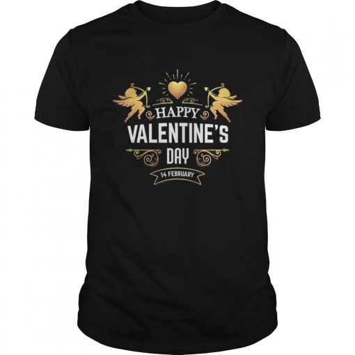 Guys HAPPY VALENTINES DAYValentines Day Shirt