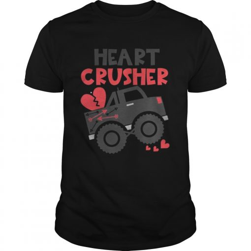 Guys Heart crusher Valentines Day SHirt