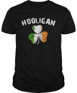 Guys Hooligan Irish Patrick day shirt