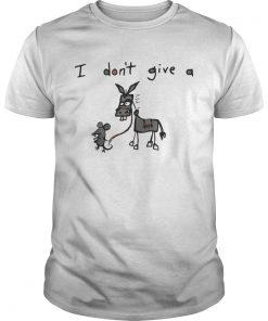 Guys I don't give a rat donkey shirt