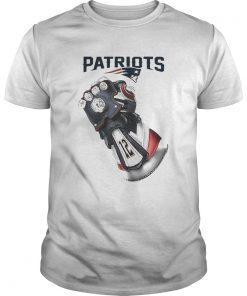 Guys Infinity Gauntlet New England Patriots Shirt