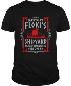 Guys Kattegat flokis shipyard quality longboats since 793 ad shirt