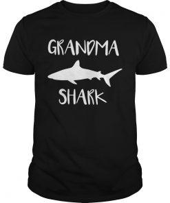 Guys Official Grandma shark shirt