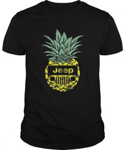 Guys Official Pineapple jeep shirt