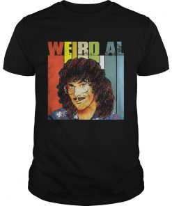 Guys Official Weird Al Vintage Shirt