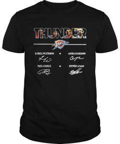 Guys Oklahoma City Thunder Signature Shirt