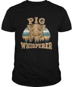 Guys Pig Whisperer Shirt