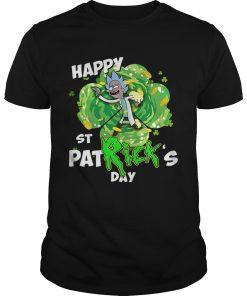 Guys Rick happy St Patricks day shirt