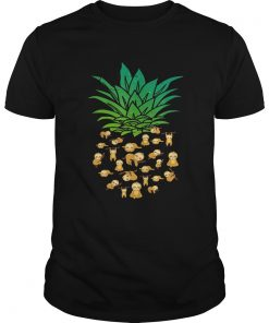Guys Sloth Pineapple shirt