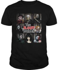 Guys The Bloody Bunch Horror Shirt