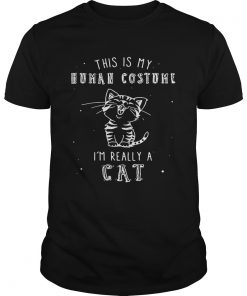 Guys This is my human costume I'm really a cat shirt