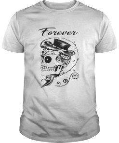 Guys Together Forever Skeleton Valentines Day Couple 2 TShirt