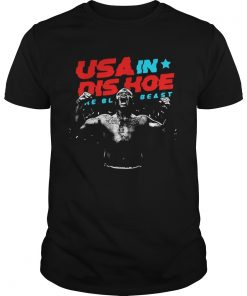 Guys USA In Dis Hoe The Black Beast shirt