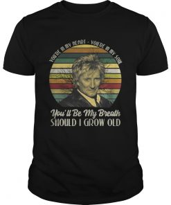 Guys Youre in my heart Youre in my soul youll be my breath should I grow old shirt