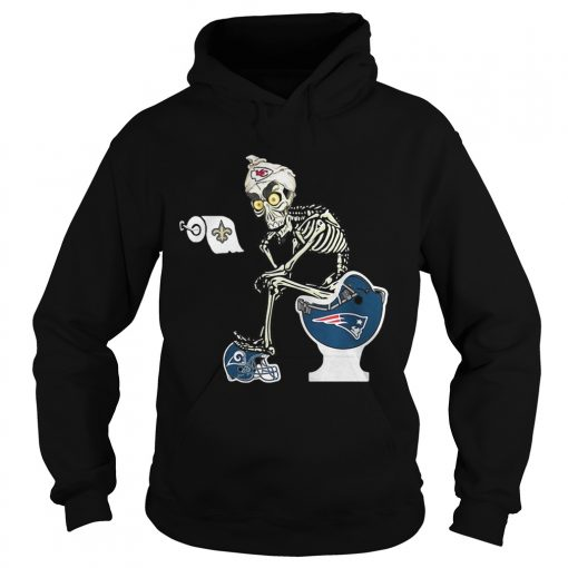 Hoodie Jeff Dunham Puppet Kansas City Chiefs toilet shirt