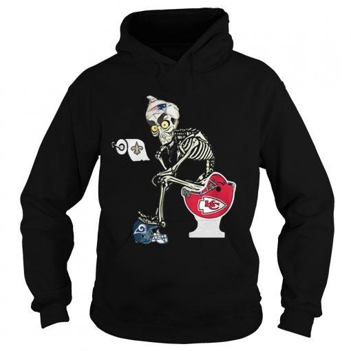 Hoodie Jeff Dunham Puppet New England Patriots toilet shirt
