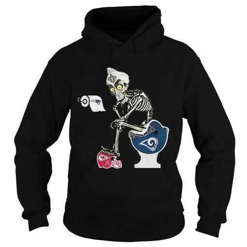 Hoodie Jeff Dunham Puppet New Orleans Saints toilet shirt