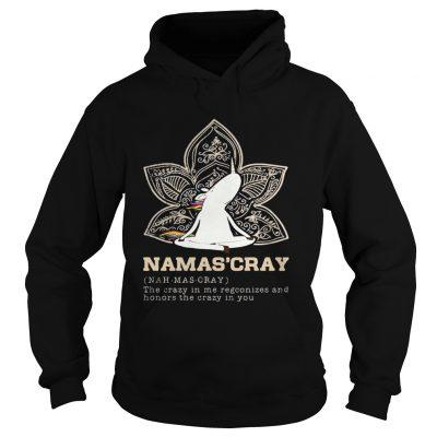 Hoodie Unicorn yoga Namascray shirt