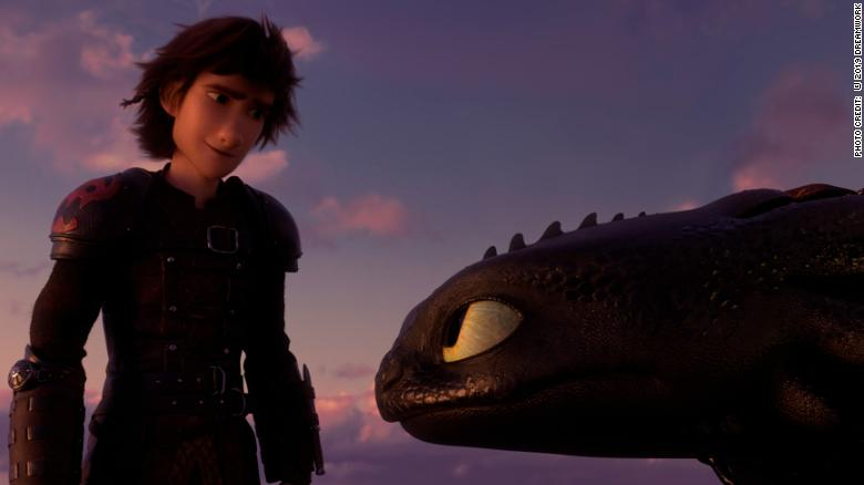 'How to Train Your Dragon' flies to finish in 'The Hidden World'