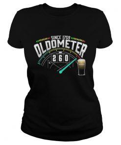 Ladies Tee Beer Since 1759 Oldometer 260 Kmh Shirt