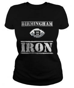 Ladies Tee Birmingham b iron shirt