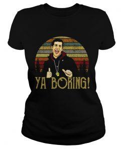Ladies Tee Brooklyn 99 Andy Samberg Ya boring vintage shirt