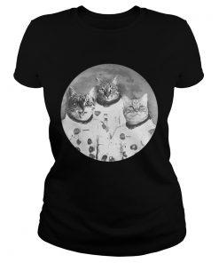 Ladies Tee Catstronauts Astronaut Cats shirt
