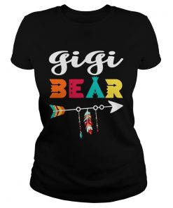 Ladies Tee Gigi bear don't mess with her shirt