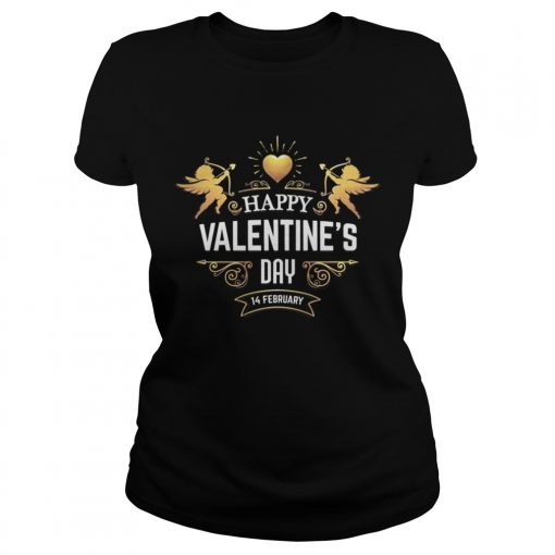 Ladies Tee HAPPY VALENTINES DAYValentines Day Shirt