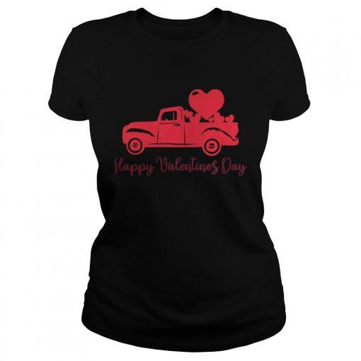 Ladies Tee Happy Valentines Day Valentines Day Shirt