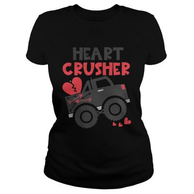 Ladies Tee Heart crusher Valentines Day SHirt