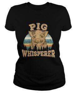 Ladies Tee Pig Whisperer Shirt