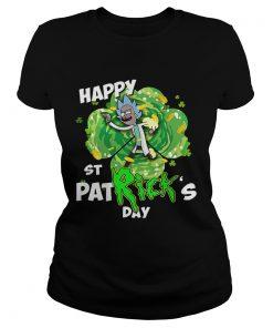 Ladies Tee Rick happy St Patricks day shirt